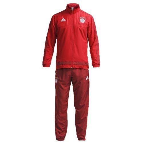 adidas Performance FC BAYERN MÜNCHEN Dres fcb true red/craft red - produkt z kategorii- dresy męskie komplety