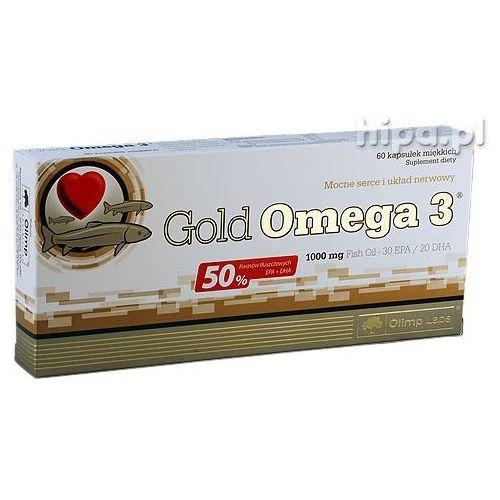 Olimp Gold Omega-3 60 kaps. Olej rybii EPA DHA 13065