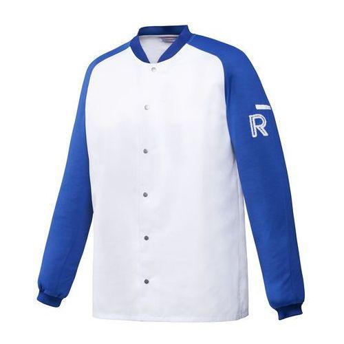Kitel, długi rękaw, rozmiar XXXL, biało-niebieski | ROBUR, Vintage