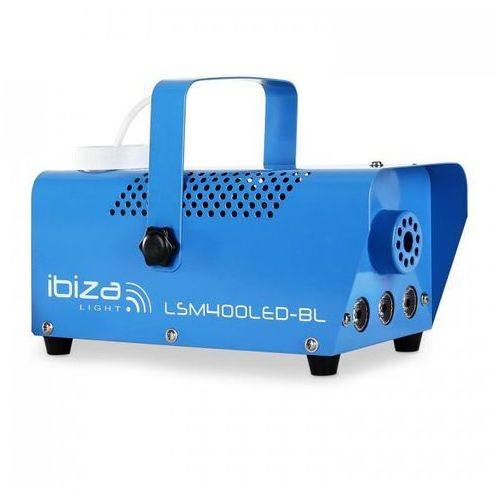 Maszyna do mgły Ibiza LSM400LED-WH mini amber LED niebieska