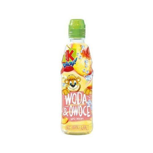 Napój kubuś play! woda&owoce jabłko + brzoskwinia 400 ml marki Tymbark