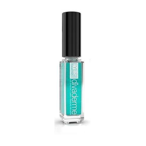 eyes diamonds - cień do powiek z pyłem diamentowym: satynowy emerald 9 ml marki Divaderme