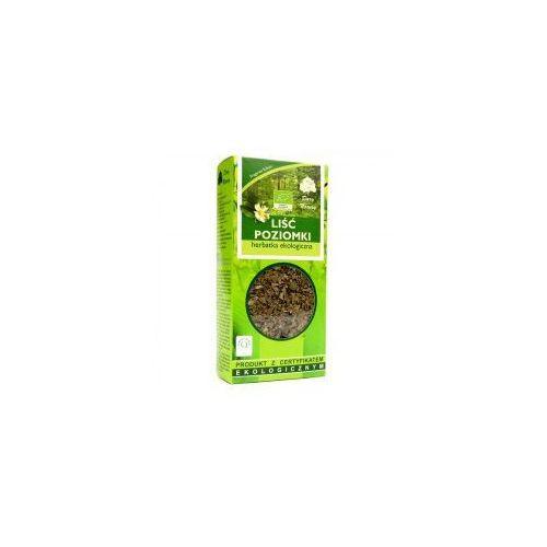 Liść Poziomki Herbatka Ekologiczna 25G Dary Natury (5902741004727)
