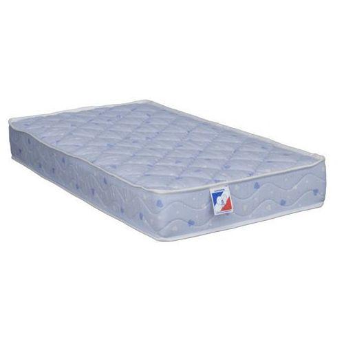 Dreamea Materac niemowlęcy bawełna calin niebieski marki - 60 × 120 cm