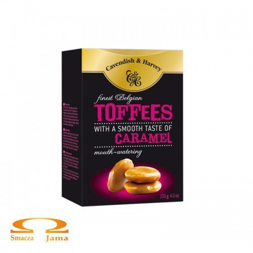 Cukierki Cavendish & Harvey Toffees 130g, 530F-5380A