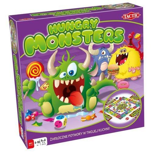 Tactic Gra hungry monsters 40843