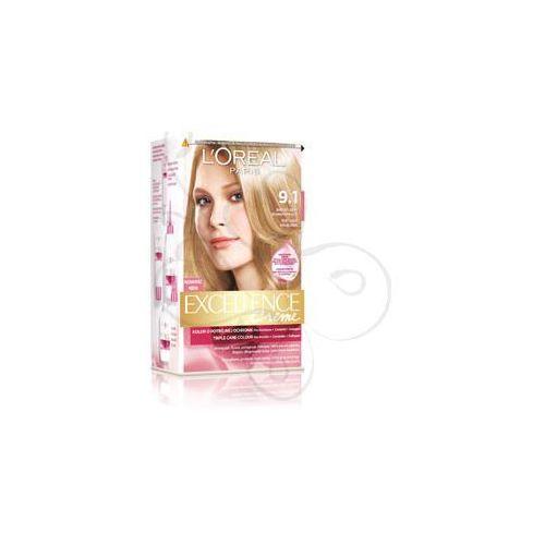 Excellence Creme farba do włosów 9.1 Bardzo jasny blond popielaty, L'Oreal Paris
