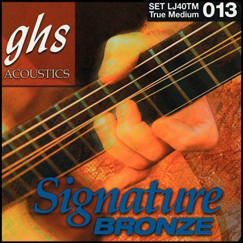 laurence juber signature bronze struny do gitary akustycznej, true medium,.013-.056 marki Ghs
