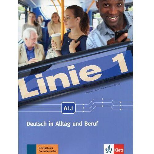 Linie 1 A1.1 Podręcznik z ćwiczeniami + DVD-ROM, Lektorklett