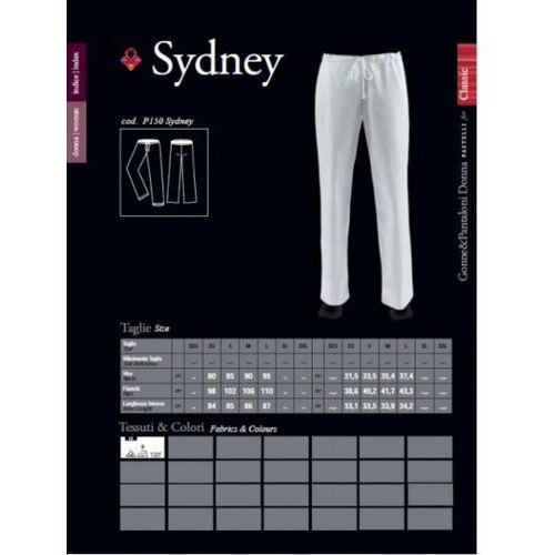 Sydney, spodnie damskie, lewantyna od producenta Pastelli