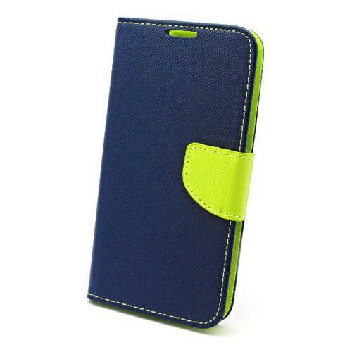 Etui Fancy Samsung Galaxy S6 niebieskie