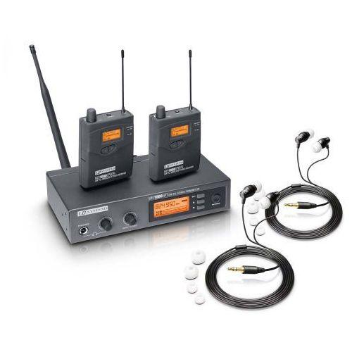 mei 1000 g2 bundle podwójny system bezprzewodowego, dousznego monitorowania marki Ld systems