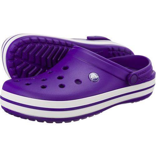 Crocs Chodaki crocband ultraviolet white