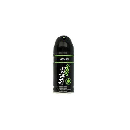 Malizia Uomo Vetyver - Dezodorant w sprayu (150 ml)