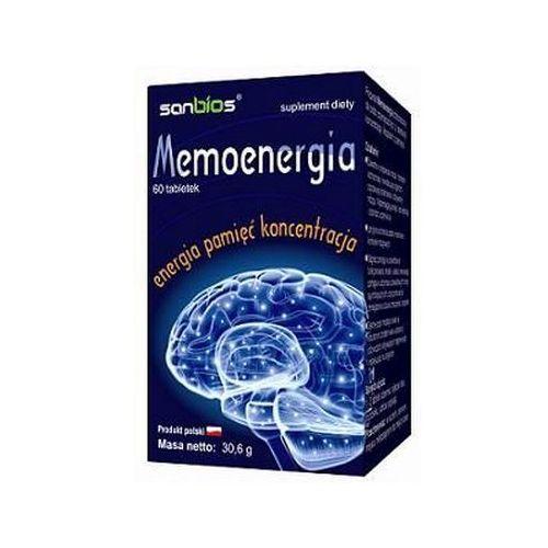 Tabletki Memoenergia (Lecytyna + Maca) 60 tabl.