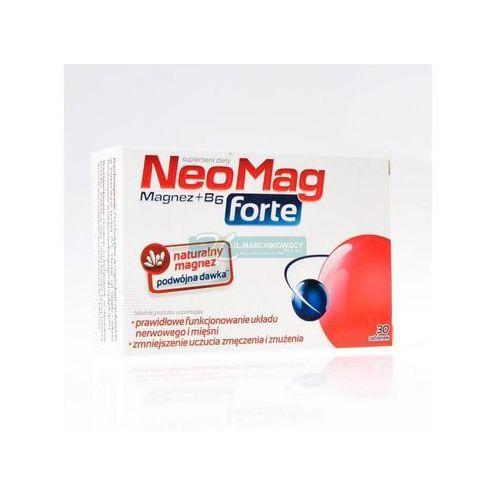 NEOMAG FORTE TABL.*30 - tabletki Witaminyi minerały