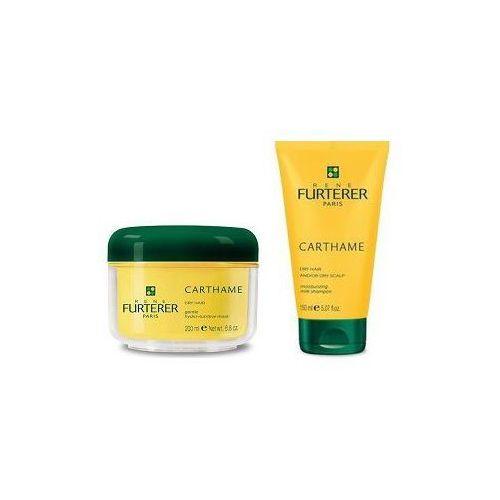 RENE FURTERER SET Carthame szampon nawilzajacy do wlosow suchych 150ml + maska do wlosow odzywczo - nawilzajaca 200ml - produkt dostępny w Palaver