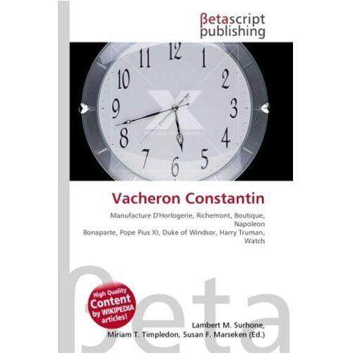 Vacheron Constantin (9786130375638)