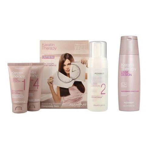 Alfaparf Keratin Therapy Smoothing Treatment Kit | Zestaw do keratynowego prostowania włosów + odżywka 250ml