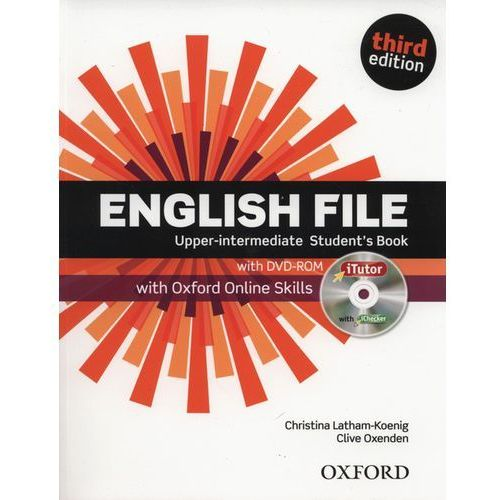 English File Upper Intermediate. Podręcznik + DVD + Online Skills, Oxford University Press