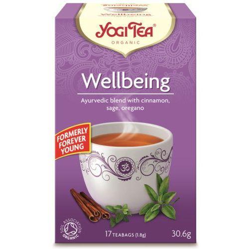 Yogi tea Herbata na dobre samopoczucie bio (17 x 1,8g) (4012824401587)