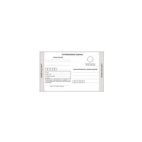 Pokwitowanie odbioru / KODEKS POSTĘPOWANIA CYWILNEGO [Ms/Kpc-1], 47464_0