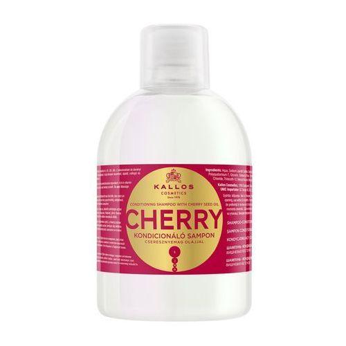 1000ml cherry szampon kondycjonujący z olejem z pestek czereśni marki Kallos