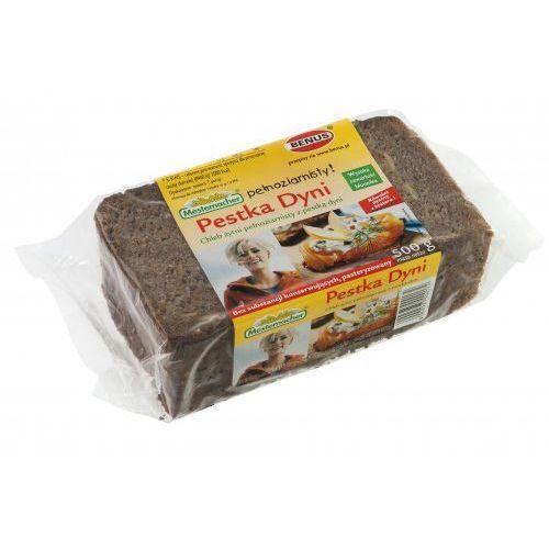 Chleb żytni pełnoziarnisty z pestką dyni 500 g marki Benus