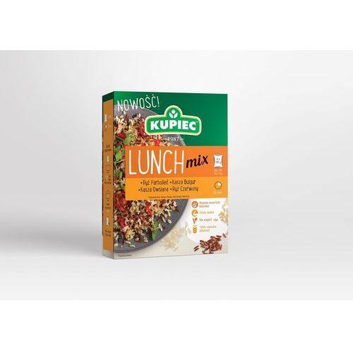 Kupiec Lunch mix ryż parboiled, bulgur, ryż czerwony, kasza owsiana (kartonik) 4x100g (5906747175801)
