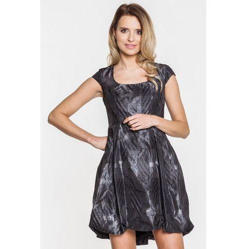 6b421defe7 Carmell Grafitowa sukienka wizytowa - 250