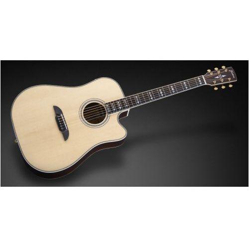 Framus fd 28 sr vnt - vintage transparent natural tinted high polish + cutaway & eq gitara elektroakustyczna