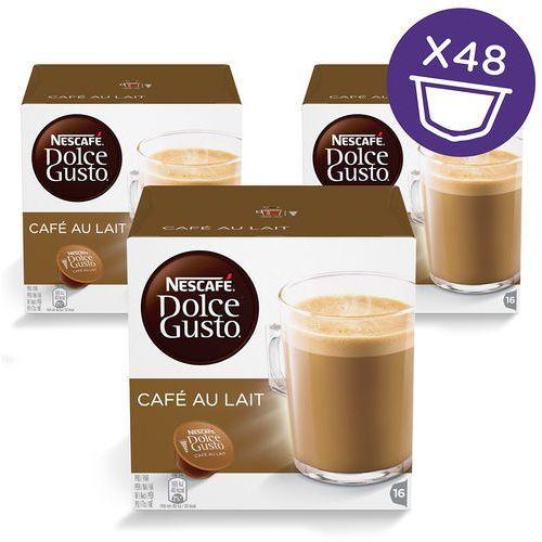 NESCAFE DOLCE GUSTO Cafe Au Lait 3x16 48 kapsułek