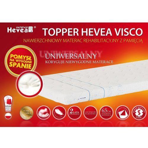 Materac nawierzchniowy topper visco marki Hevea