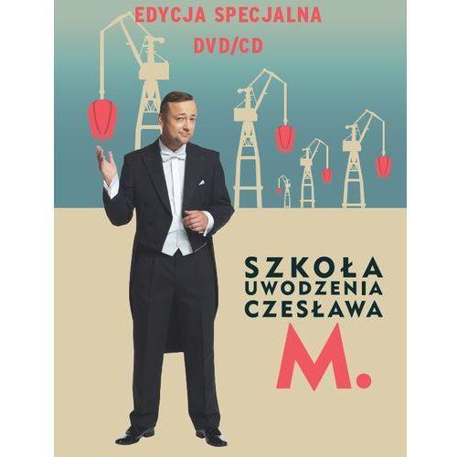 Agora Szkoła uwodzenia czesława m. pakiet dvd+cd