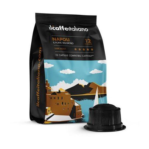Napoli il caffè italiano kapsułki do tchibo cafissimo – 10 kapsułek marki Nespresso kapsułki