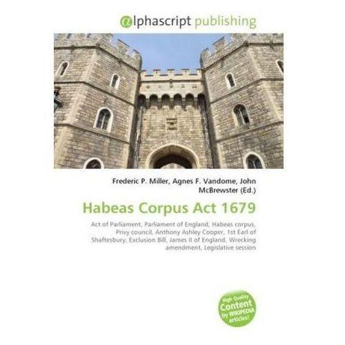 Habeas Corpus Act 1679