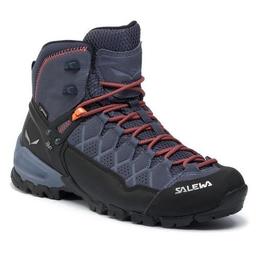 Trekkingi - alp trainer mid gtx gore-tex 63432-3845 ombre blue/fluo orange marki Salewa