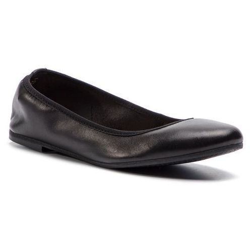 Baleriny TAMARIS - 1-22128-22 Black Leather 003, w 4 rozmiarach