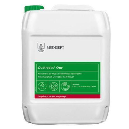 Medisept QUATRODES ONE Koncentrat do mycia i dezynfekcji powierzchni nieinwazyjnych wyrobów medycznych (5000 ml)