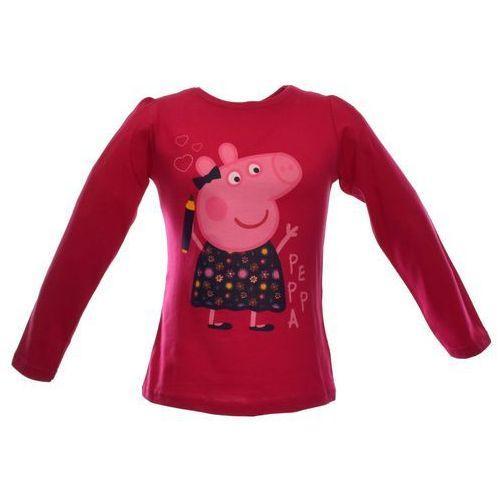 Bluzka dla dzieci z bohaterką bajki Świnka Peppa, kolor różowy