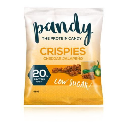 Pandy Protein Crispies - Chrupki Proteinowe - 75g - Cheddar Jalapeno