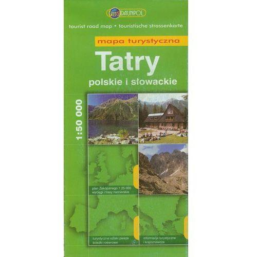Tatry Polskie I Słowackie. Mapa Turystyczna W Skali 1:50 000 (2009)