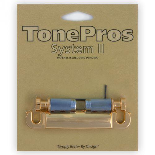TonePros T1ZS-G - Tailpiece, części mostka do gitary, złote