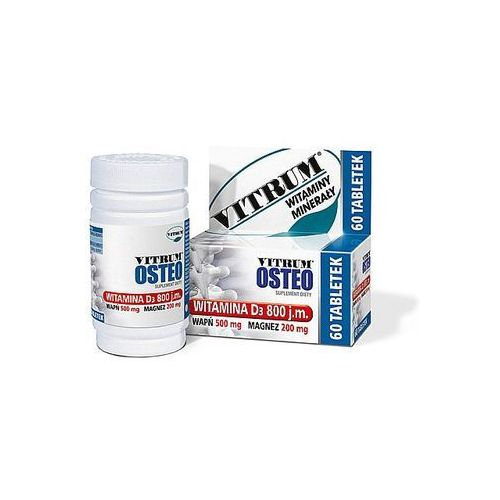 Vitrum Osteo x 60 tabl., produkt z kategorii- Leki na osteoporozę