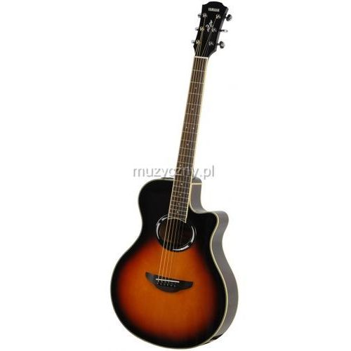 apx 500 iii vsb gitara elektroakustyczna, vintage sunburst marki Yamaha