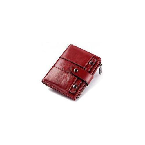 b21081a545b85 Kavi's Portfel damski mały skórzany czerwony 72,00 zł Nazwa producenta:  KAVIS rodzaj artykułu: portfel Długość portfela: niedługi Płeć: kobiety  Wnętrze: ...