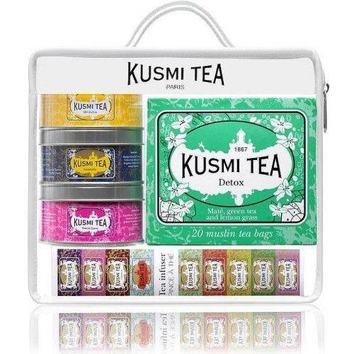 Herbaty kusmi w zestawie z zaparzaczką voyage travel set (3585810044538)