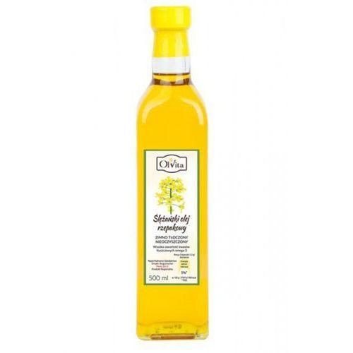 Olej rzepakowy zimnotłoczony 500ml - Ol'Vita, 257