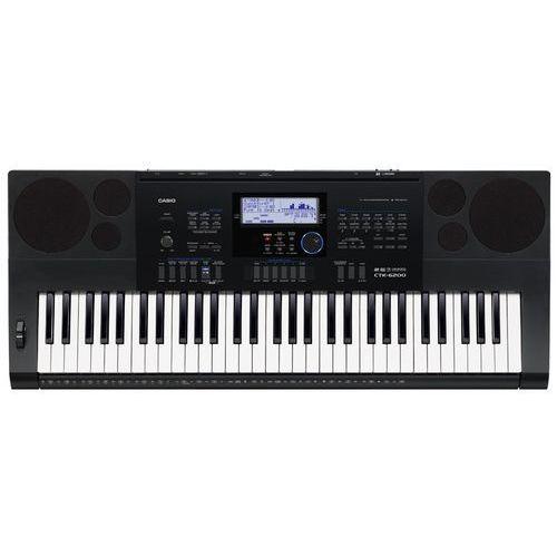 Casio ctk-6200 - keyboard + instrukcja pl