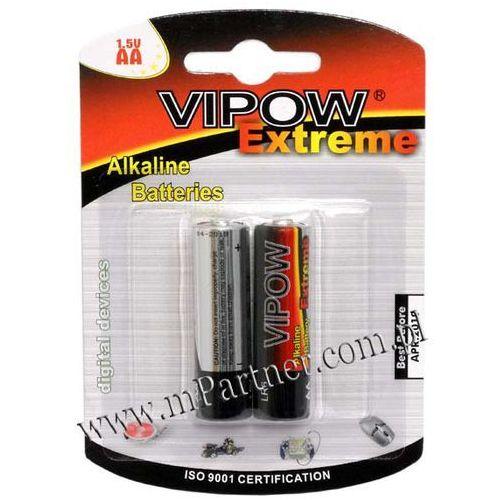 2x Baterie Alkaliczne VIPOW EXTREME LR6 AA 1,5V
